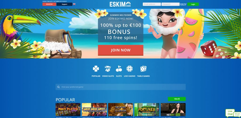 eskimo-casino-index